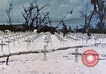 Image of U.S. Armed Forces Cemetery No. 1 Peleliu Palau Islands, 1944, second 39 stock footage video 65675022888