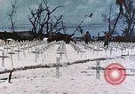 Image of U.S. Armed Forces Cemetery No. 1 Peleliu Palau Islands, 1944, second 40 stock footage video 65675022888