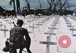 Image of U.S. Armed Forces Cemetery No. 1 Peleliu Palau Islands, 1944, second 47 stock footage video 65675022888