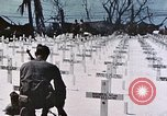 Image of U.S. Armed Forces Cemetery No. 1 Peleliu Palau Islands, 1944, second 50 stock footage video 65675022888