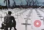 Image of U.S. Armed Forces Cemetery No. 1 Peleliu Palau Islands, 1944, second 53 stock footage video 65675022888
