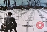Image of U.S. Armed Forces Cemetery No. 1 Peleliu Palau Islands, 1944, second 54 stock footage video 65675022888