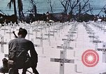 Image of U.S. Armed Forces Cemetery No. 1 Peleliu Palau Islands, 1944, second 55 stock footage video 65675022888