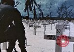 Image of U.S. Armed Forces Cemetery No. 1 Peleliu Palau Islands, 1944, second 57 stock footage video 65675022888