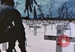 Image of U.S. Armed Forces Cemetery No. 1 Peleliu Palau Islands, 1944, second 59 stock footage video 65675022888