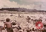 Image of First Marine Division Peleliu Palau Islands, 1944, second 16 stock footage video 65675022905