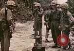 Image of First Division Marines Peleliu Palau Islands, 1944, second 8 stock footage video 65675022907