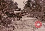 Image of First Division Marines Peleliu Palau Islands, 1944, second 18 stock footage video 65675022907