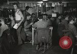 Image of Interior of Combat Information Center aboard USS Mount McKinley Peleliu Palau Islands, 1944, second 8 stock footage video 65675022936