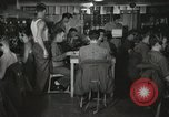 Image of Interior of Combat Information Center aboard USS Mount McKinley Peleliu Palau Islands, 1944, second 16 stock footage video 65675022936