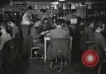 Image of Interior of Combat Information Center aboard USS Mount McKinley Peleliu Palau Islands, 1944, second 17 stock footage video 65675022936