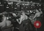 Image of Interior of Combat Information Center aboard USS Mount McKinley Peleliu Palau Islands, 1944, second 19 stock footage video 65675022936