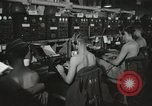 Image of Interior of Combat Information Center aboard USS Mount McKinley Peleliu Palau Islands, 1944, second 20 stock footage video 65675022936