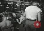 Image of Interior of Combat Information Center aboard USS Mount McKinley Peleliu Palau Islands, 1944, second 21 stock footage video 65675022936