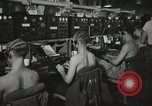 Image of Interior of Combat Information Center aboard USS Mount McKinley Peleliu Palau Islands, 1944, second 22 stock footage video 65675022936