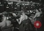 Image of Interior of Combat Information Center aboard USS Mount McKinley Peleliu Palau Islands, 1944, second 23 stock footage video 65675022936