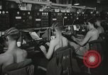 Image of Interior of Combat Information Center aboard USS Mount McKinley Peleliu Palau Islands, 1944, second 24 stock footage video 65675022936