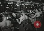 Image of Interior of Combat Information Center aboard USS Mount McKinley Peleliu Palau Islands, 1944, second 25 stock footage video 65675022936