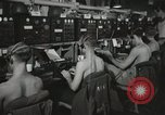 Image of Interior of Combat Information Center aboard USS Mount McKinley Peleliu Palau Islands, 1944, second 26 stock footage video 65675022936