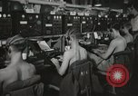 Image of Interior of Combat Information Center aboard USS Mount McKinley Peleliu Palau Islands, 1944, second 27 stock footage video 65675022936