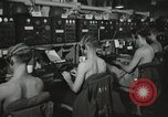 Image of Interior of Combat Information Center aboard USS Mount McKinley Peleliu Palau Islands, 1944, second 29 stock footage video 65675022936