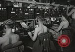 Image of Interior of Combat Information Center aboard USS Mount McKinley Peleliu Palau Islands, 1944, second 30 stock footage video 65675022936