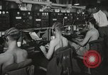 Image of Interior of Combat Information Center aboard USS Mount McKinley Peleliu Palau Islands, 1944, second 31 stock footage video 65675022936