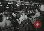 Image of Interior of Combat Information Center aboard USS Mount McKinley Peleliu Palau Islands, 1944, second 32 stock footage video 65675022936