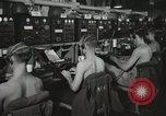 Image of Interior of Combat Information Center aboard USS Mount McKinley Peleliu Palau Islands, 1944, second 34 stock footage video 65675022936