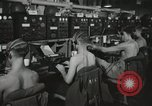 Image of Interior of Combat Information Center aboard USS Mount McKinley Peleliu Palau Islands, 1944, second 35 stock footage video 65675022936