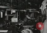 Image of Interior of Combat Information Center aboard USS Mount McKinley Peleliu Palau Islands, 1944, second 36 stock footage video 65675022936