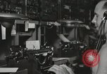 Image of Interior of Combat Information Center aboard USS Mount McKinley Peleliu Palau Islands, 1944, second 37 stock footage video 65675022936