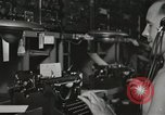 Image of Interior of Combat Information Center aboard USS Mount McKinley Peleliu Palau Islands, 1944, second 38 stock footage video 65675022936