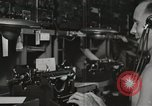 Image of Interior of Combat Information Center aboard USS Mount McKinley Peleliu Palau Islands, 1944, second 40 stock footage video 65675022936