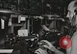 Image of Interior of Combat Information Center aboard USS Mount McKinley Peleliu Palau Islands, 1944, second 42 stock footage video 65675022936