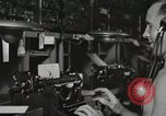 Image of Interior of Combat Information Center aboard USS Mount McKinley Peleliu Palau Islands, 1944, second 43 stock footage video 65675022936