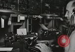 Image of Interior of Combat Information Center aboard USS Mount McKinley Peleliu Palau Islands, 1944, second 45 stock footage video 65675022936