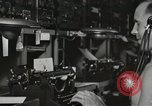 Image of Interior of Combat Information Center aboard USS Mount McKinley Peleliu Palau Islands, 1944, second 46 stock footage video 65675022936