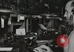 Image of Interior of Combat Information Center aboard USS Mount McKinley Peleliu Palau Islands, 1944, second 48 stock footage video 65675022936
