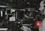 Image of Interior of Combat Information Center aboard USS Mount McKinley Peleliu Palau Islands, 1944, second 50 stock footage video 65675022936