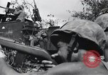 Image of 81st Army Division firing on sniper Peleliu Palau Islands, 1944, second 62 stock footage video 65675022967