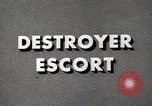 Image of Destroyer Escort United States USA, 1944, second 27 stock footage video 65675022981