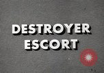 Image of Destroyer Escort United States USA, 1944, second 29 stock footage video 65675022981