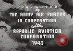 Image of P-47 Thunderbolt United States USA, 1943, second 24 stock footage video 65675022991