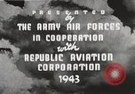 Image of P-47 Thunderbolt United States USA, 1943, second 29 stock footage video 65675022991