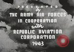 Image of P-47 Thunderbolt United States USA, 1943, second 31 stock footage video 65675022991