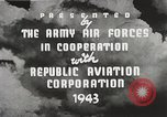 Image of P-47 Thunderbolt United States USA, 1943, second 36 stock footage video 65675022991