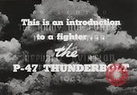 Image of P-47 Thunderbolt United States USA, 1943, second 37 stock footage video 65675022991