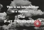 Image of P-47 Thunderbolt United States USA, 1943, second 39 stock footage video 65675022991