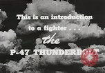 Image of P-47 Thunderbolt United States USA, 1943, second 41 stock footage video 65675022991